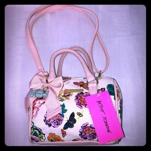 Betsey Johnson barrel purse
